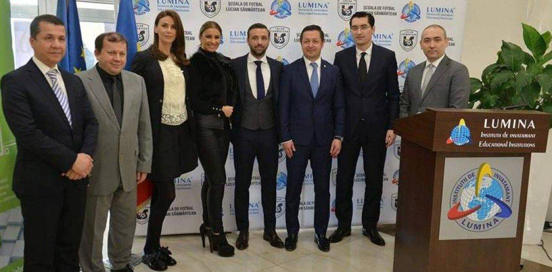 """Romanya'nın yeni yıldızları """"LUCİAN SANMARTEAN – LUMİNA"""" futbol okulunda yetişecek"""
